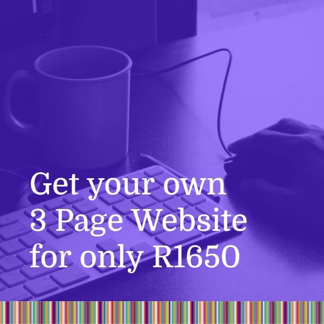 Indigo Website (3 Page Website)